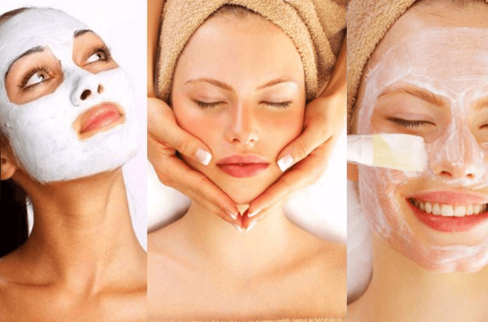 Facial and skincare, big butt woman that nude